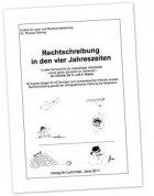 """""""Rechtschreibung in den vier Jahreszeiten"""""""